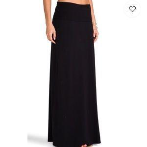 Splendid Black Maxi Skirt